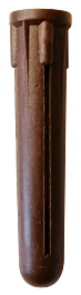 Brown Plastic Plugs