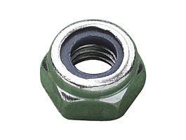 M18 DIN985 Nylon Insert Nut CL.6 BZP