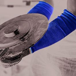 100% Kevlar® Knitted Sleeve. 18 inch