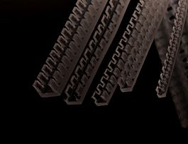 1.3-2.1mm Castellated Grommet Strip
