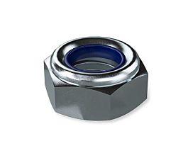 DIN985 M6 Nylon Insert Nut Grade 8 BZP
