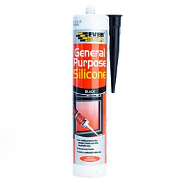 310ml Gen Purpose Silicone Black C3