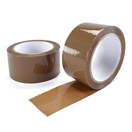 48mm x 66m Lownoise Tape Brown