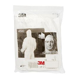 3M™ Coverall, White, 4500-W-2XL