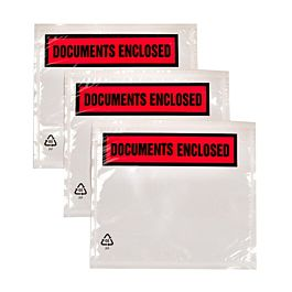 Document Enclosed Pouch, A6, Plain