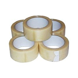 48mm x 66m Polyprop Tape Clear