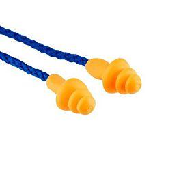 Earplugs, 25 dB, Corded, 25 Pairs
