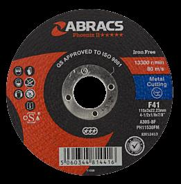 115x3x22mm FlatMetal Cut Disc