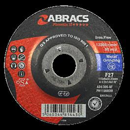 115x6x22mm DPC Metal Grind Disc