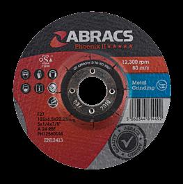 125x6x22mm DPC Metal Grind Disc