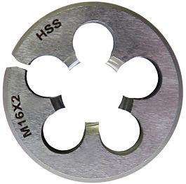 M10 x 1.5 HSS Left Hand Dienut