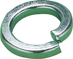 1/2 Square Section Spring Washer BZP
